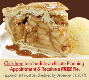 Click Here to Receive a Free Pie